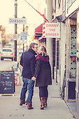 Teri & Andrew, an engagement shoot in pretty downtown Cambridge