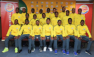 CAPE TOWN, SOUTH AFRICA - Sunday 27 September 2015: the South African team during the U17 International friendly soccer match between South Africa v Chile at Athlete Stadium. (Photo by Roger Sedres/ImageSA)