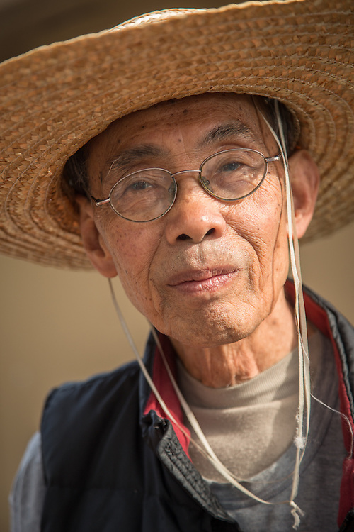 San Francisco resident Tim Guan, photographed near his home at Potero Terrace.
