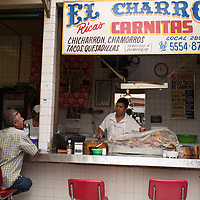 El Charro Carnitas, Coyoacan Market