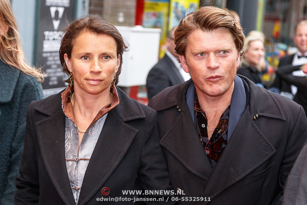 Family photo of the actor, married to Selly Vermeijden, famous for Het Zesde Zintuig & Show Me The Money.