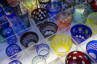 Kappabashi Glassware Store; - Kappabashi is  is almost entirely made up of shops that supply the restaurant trade. The stores sell everything from restaurant decorations, knives, cutlery, and most famously plastic display food samples found in Japanese restaurants to display their menus.