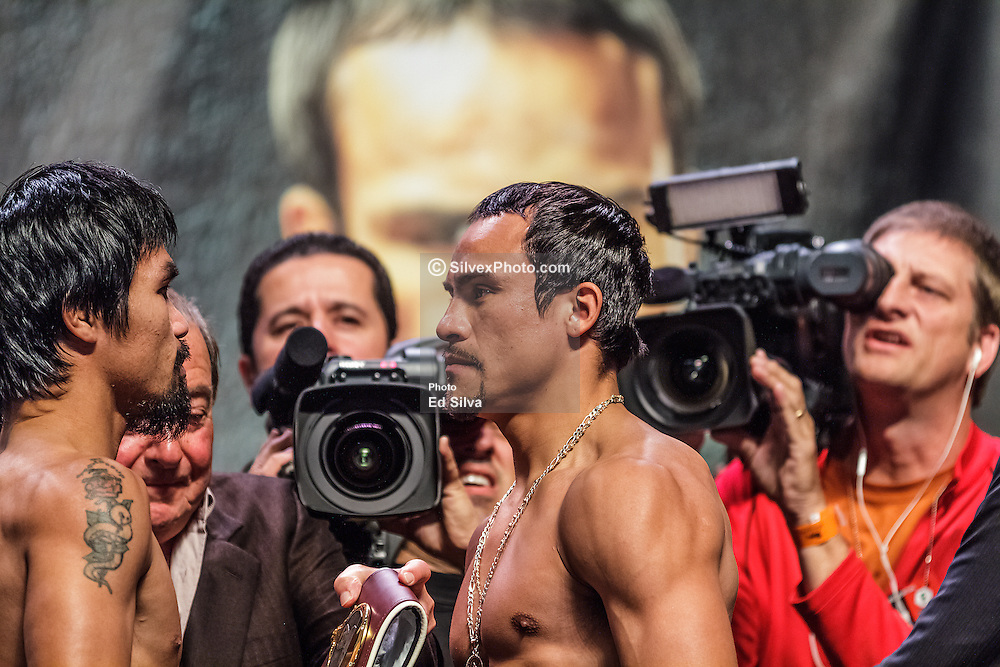 Pacquiao Vs Marquez 2 Weigh In