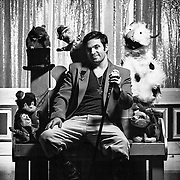 Portrait of Anthony Labriola, new owner of the Long Island Puppet Theater