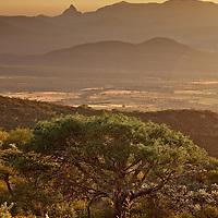 Sunset in Queretaro Province, Mexico