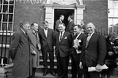 1966 - Regional Game Councils meet Minister for Lands at Department of Lands, Dublin