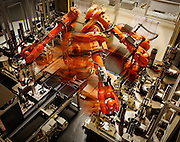 robotic assembly of engine parts