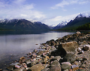 AA01137-01...MONTANA - Lake McDonald in Glacier National Park.