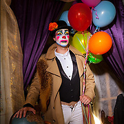 Client: San Francisco Bay Guardian - Performance Artist Mica Sigourney. His alt-persona VivvyAnne ForeverMORE! hosts Some Thing, a drag cavalcade at the Stud Club in San Francisco.<br />