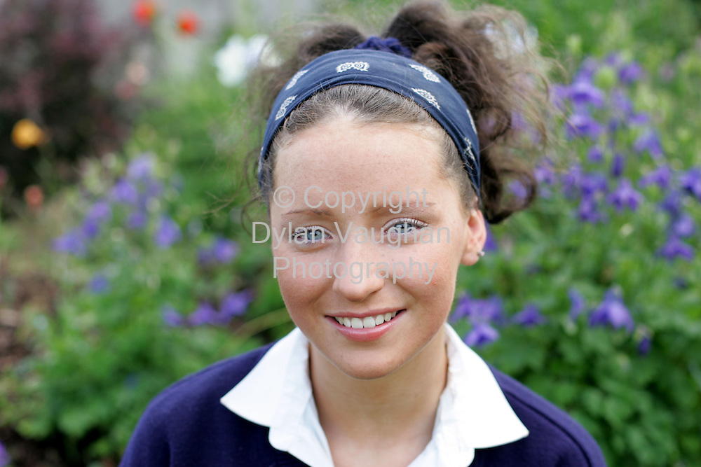 9/6/2004.Clodagh Feaheny who won the trip to Disney with the Star..Picture Dylan Vaughan.