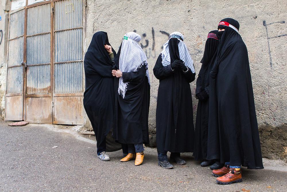 Wonderful Stock Photo  Shia Muslim Woman In Traditional Dress Smoking A