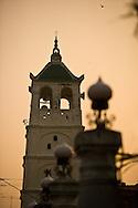minaret of the Kampung Kling Mosque