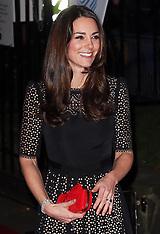NOV 28 2013 Duchess of  Cambridge at SportsAid ball
