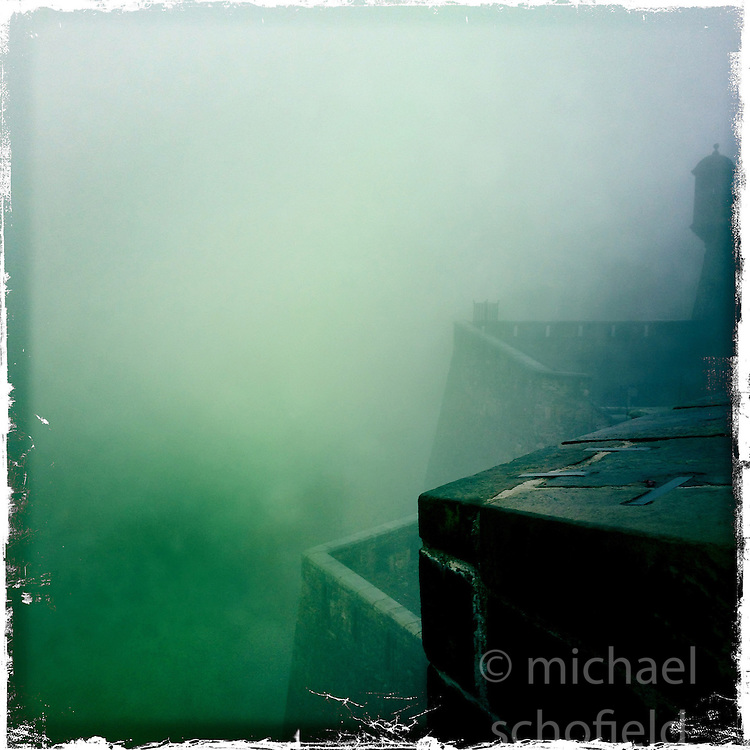 Edinburgh Castle..Hipstamatic images taken on an Apple iPhone..©Michael Schofield.