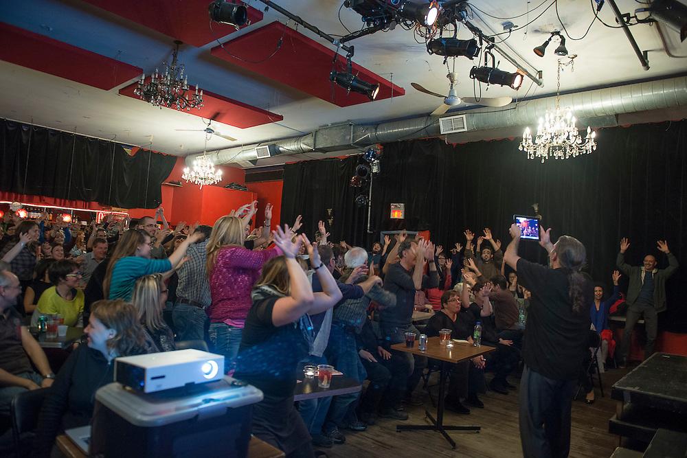LES CHAMPS MAGNÉTIQUES : PETER COOK ET KENNY LERNER.FLYING WORDS PROJECT à La Sala Rossa le vendredi 19 octobre 2012.