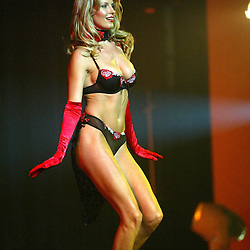Penny Lancaster, Ultimo Lingerie Show 2003