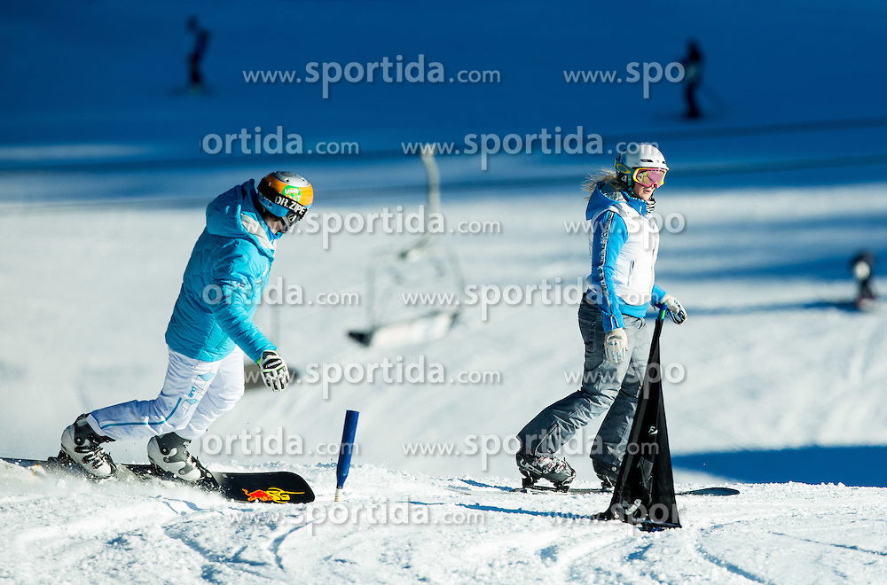 Training of Snowboarding Team Slovenia prior to the 2015 FIS Freestyle Ski and Snowboard World Championships in Kreischberg (AUT) on January 13, 2015 in Rogla, Slovenia. Photo by Vid Ponikvar / Sportida