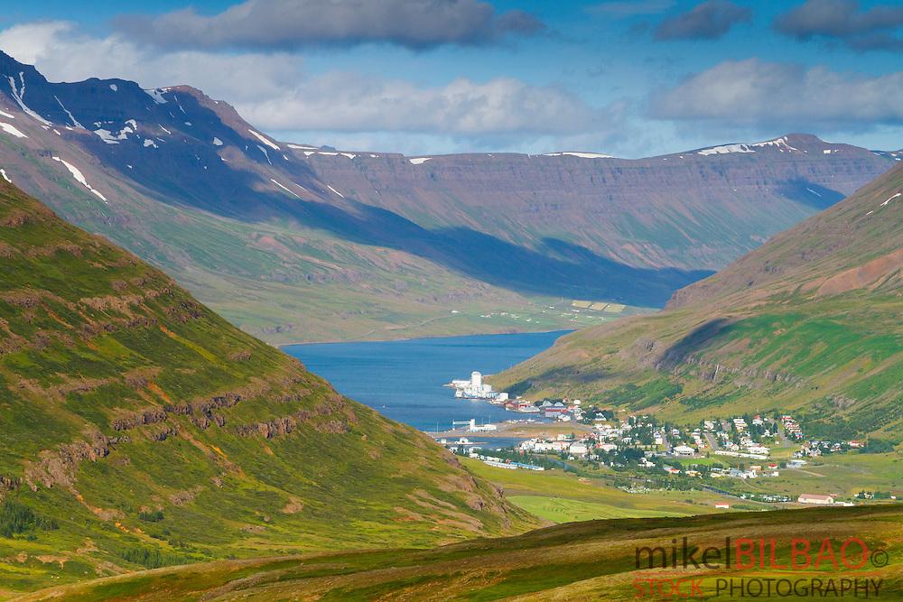 Seydisfjordur. Iceland, Europe