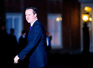 24-3-2014 THE HAGUE  - Arrival of David CAmeron for the NSS summit  diner at the Palace Huis ten Bosch . COPYRIGHT ROBIN UTRECHT