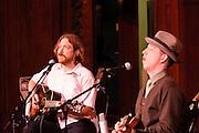 Pokey LaFarge and Ryan Spearman at Folk School Of St Louis 10th Anniversary Show, Sheldon Concert Hall 12.1.2011