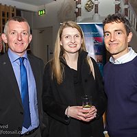 (l to r) John Ryan (Spirit Motor Group), Melanie McCoust, and James O'Callaghan (Performance Director, Irish Sailing Association ) attending the official launch of Volvo Dún Laoghaire Regatta 2017 in the National Maritime Museum of Ireland on Wednesday evening. The Regatta will be among the biggest mass-participatory sporting event in Ireland this year (eclipsed for numbers only by the city marathons).