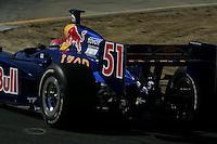 Alex Barron at Infineon Raceway, Argent Mortgage Indy Grand Prix, August 28, 2005