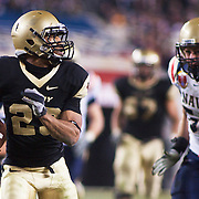 Army SB (#23) Malcolm Brown with a 45 yard TOUCHDOWN late in 4th quarter. Army down 17-31 late in the 4th quarter. Navy set the tone early in the game as Navy defeats Army 31-17 in front of 69,223 at  Lincoln Financial Field in Philadelphia Pennsylvania