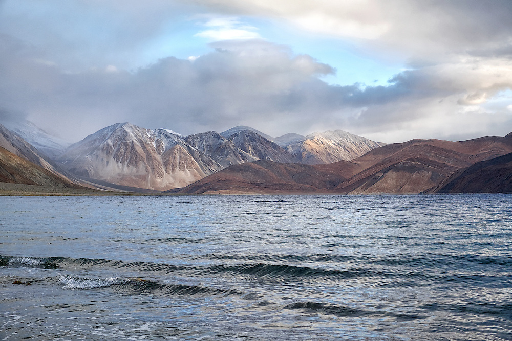 Pangong Lake in Ladakh Region of India
