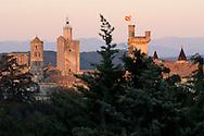France, Languedoc Roussillon, Gard (30), Uzège, Uzès, tour Fenestrelle, tour de l'Êvèque, tour Bermonde
