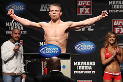 Atlantic City, NJ - June 21, 2012: Rick Story at the weigh-ins for UFC on FX 4 at Ovation Hall at Revel Resort & Casino in Atlantic City, New Jersey.