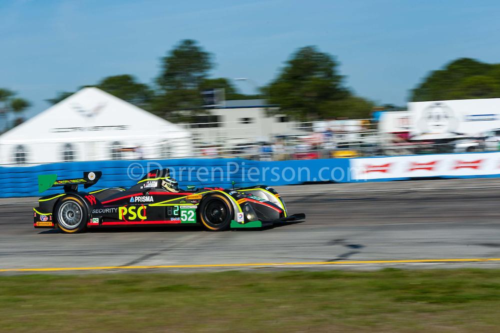 #52 PR1/Mathiasen Motorsports ORECA FLM09: Robert Alon, Jose Gutierrez, Tom Kimber-Smith