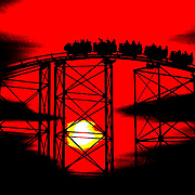 Roller-coaster sunser