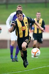 Ian Little, Berwick Rangers..Berwick Rangers 0 v 1 Annan Athletic, 1/10/2011..Pic © Michael Schofield.