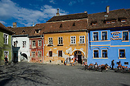 Sighisoara, a UNESCO World Heritage Site, Transylvania, Romania