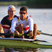 Malte Grossmann and Michael Trebbow Junior World Champions Mens 2-