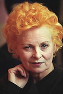Vivienne Westwood, fashion designer, London, England. Rex 300429