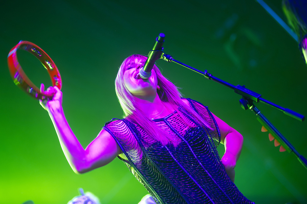 Grace Potter and the Nocturnals rock the Pavilion Stage.