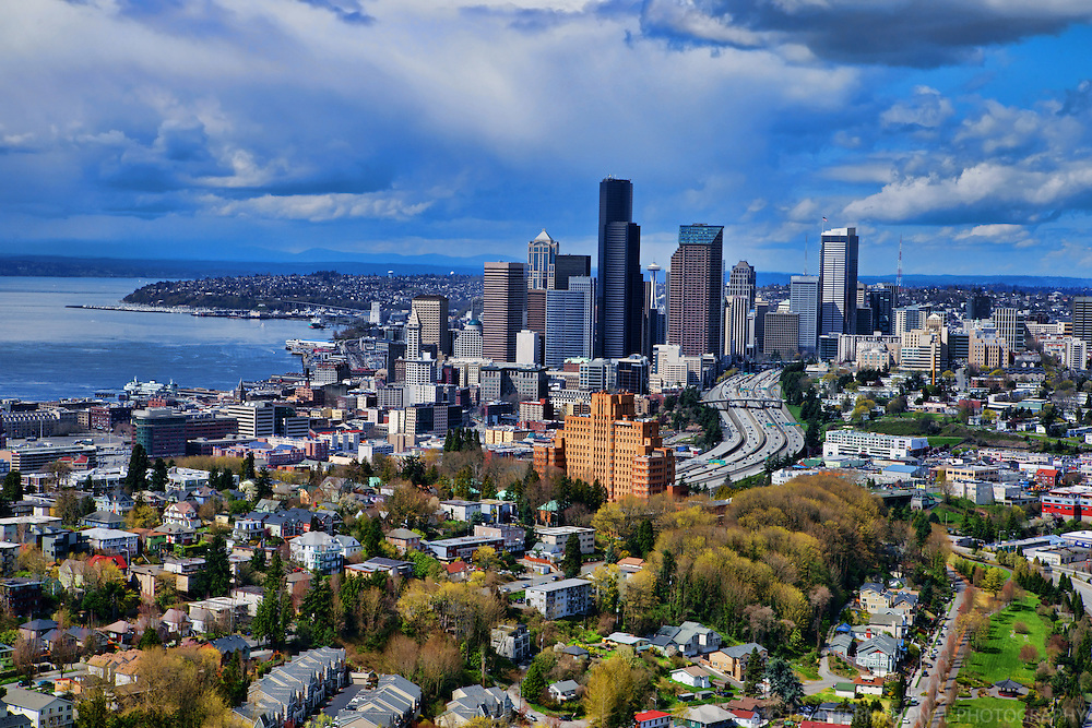 Seattle Skyline & Beacon Hill