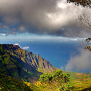 Landscape,photo,Hawaii,mountains,ocean,
