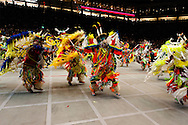 Gathering of Nations Pow Wow, Fancy Dancers, Albuquerque, New Mexico