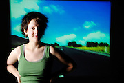 Laura Holland and the open road for the Baltimore Sun Travel Survey.