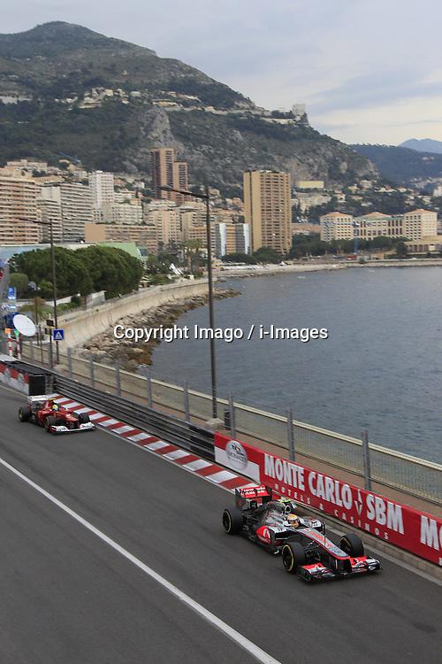 Lewis Hamilton  at  Monaco Grand Prix, Sunday, 27th May 2012.   Photo by: Imago / i-Images