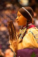 Traditional Dancer, American Indian Council Powwow, Montana State University, Bozeman, Montana