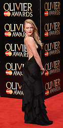 Camilla Kerslake attends The Laurence Olivier Awards at The Royal Opera House, Covent Gardens, London on Sunday 12 April 2015