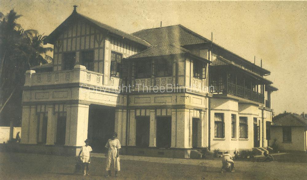 Wycherly, Spittel's home in Colombo.