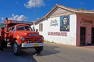 Truck in Puente de Cabezas, Pinar del Rio, Cuba.