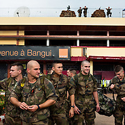 November 11th 2013, the new troops of the French Army arrive at the airport.