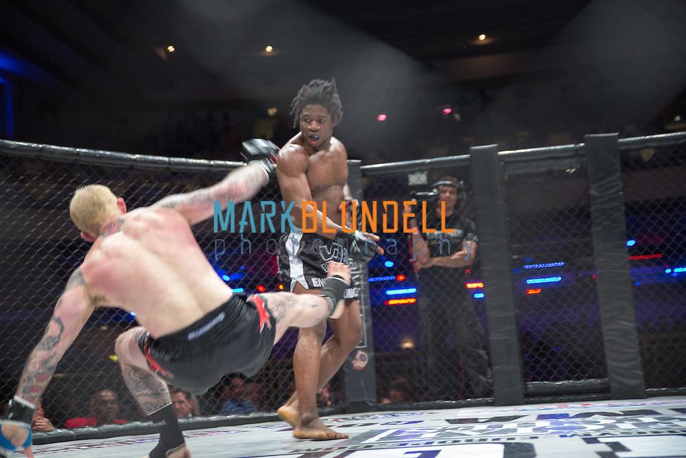 Galore Bafando vs. Peter Irving at UCMMA34