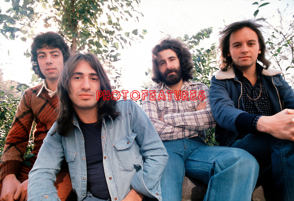 10cc 1973 Graham Gouldman, Lol Creme, Kevin Godley and Eric Stewart<br /> &copy; Chris Walter