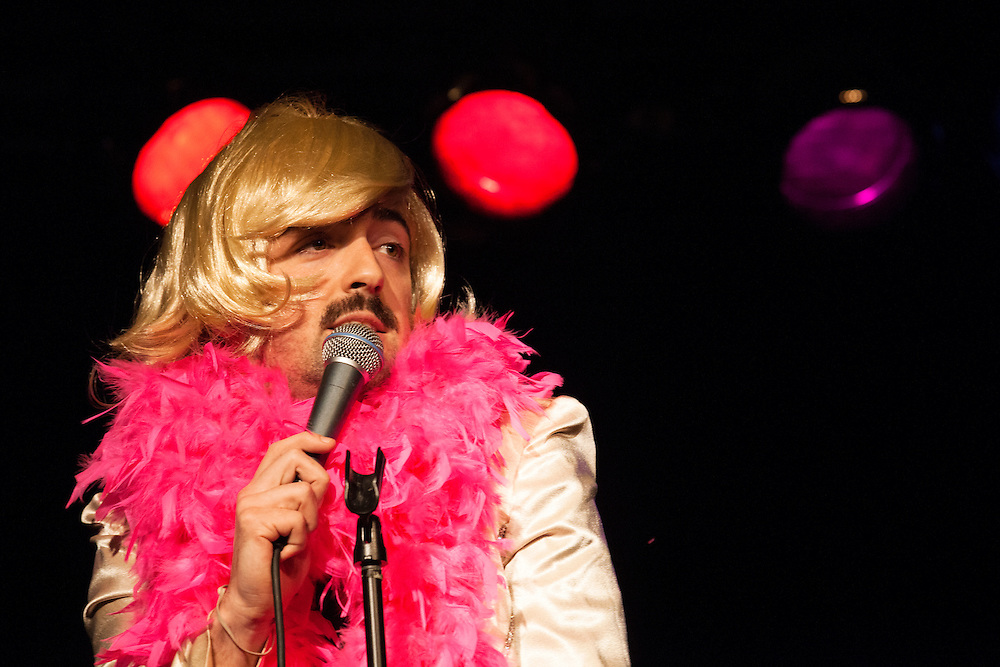 Matteo Lane as Joan Rivers - Schtick or Treat 2013 - Littlefield, Brooklyn - October 27, 2013